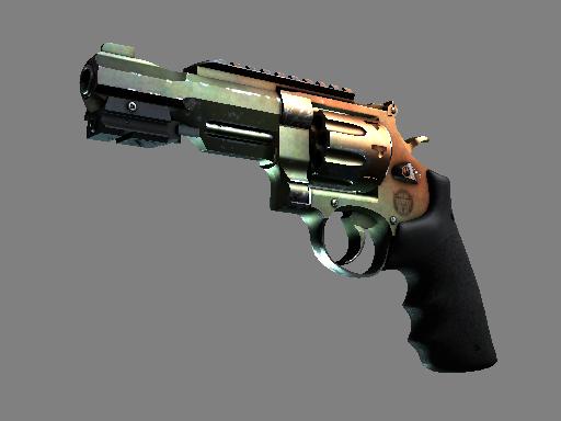 csgo 饰品交易-R8 左轮手枪 | 渐变琥珀 (久经沙场)