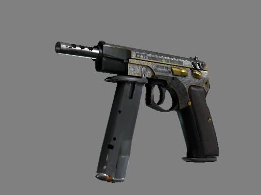 csgo 饰品交易-CZ75 自动手枪(StatTrak™)   维多利亚 (久经沙场)