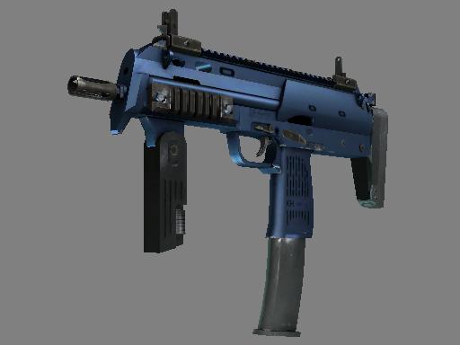 csgo 饰品交易-MP7 | 深蓝电镀处理 (崭新出厂)