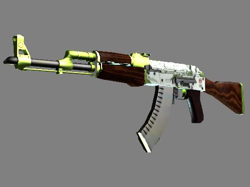csgo 饰品交易-AK-47 | 水栽竹 (略有磨损)