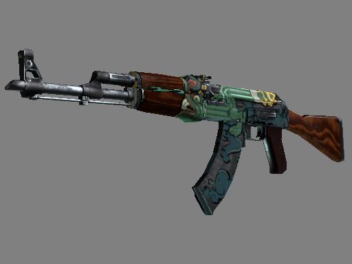 csgo 饰品交易-AK-47 | 火蛇 (略有磨损)