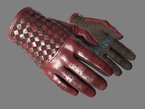 csgo 饰品交易-驾驶手套(★) | 深红织物 (略有磨损)