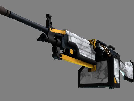 csgo 饰品交易-M249 | 鬼影 (略有磨损)