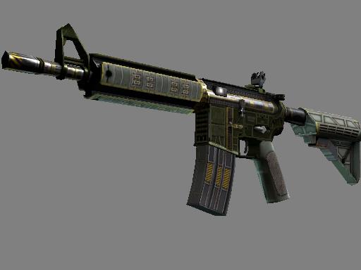 csgo 饰品交易-M4A4 | 战场之星 (崭新出厂)