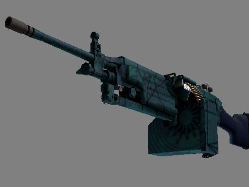 csgo 饰品交易-M249 | 海滨预测者 (崭新出厂)