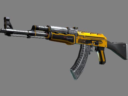csgo 饰品交易-AK-47(StatTrak™) | 燃料喷射器 (略有磨损)