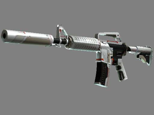 csgo 饰品交易-M4A1 消音版(StatTrak™) | 机械工业 (略有磨损)