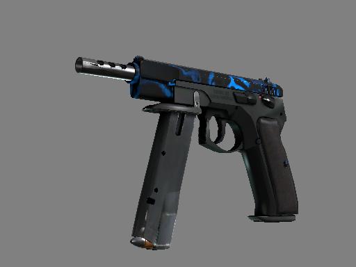 csgo 饰品交易-CZ75 自动手枪(StatTrak™)   毒镖 (崭新出厂)