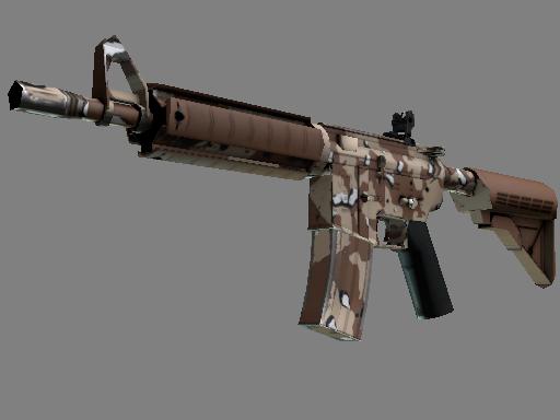 csgo 饰品交易-M4A4 | 沙漠风暴 (略有磨损)