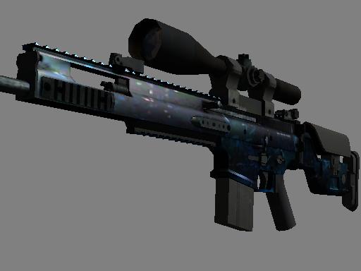 csgo 饰品交易-SCAR-20 | 蓝洞 (略有磨损)