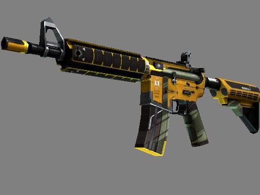 csgo 饰品交易-M4A4(StatTrak™) | 喧嚣杀戮 (崭新出厂)