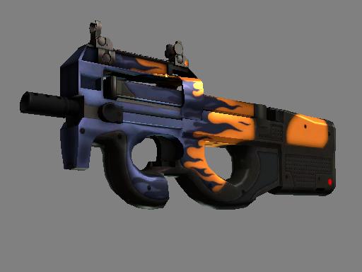 csgo 饰品交易-P90(StatTrak™)   夺命器 (略有磨损)