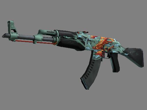 CS:GO 饰品交易-AK-47(StatTrak™) | 深海复仇 (久经沙场)