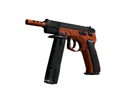 CS:GO 饰品交易-CZ75 自动手枪 | 氮化处理 (久经沙场)