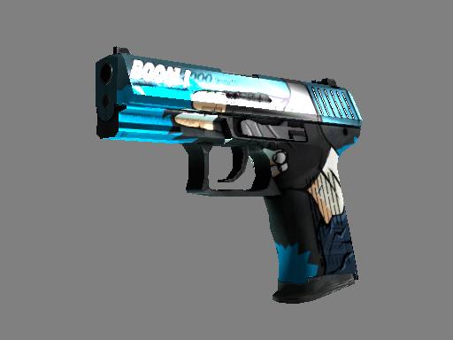 csgo 饰品交易-P2000(StatTrak™) | 手炮 (略有磨损)