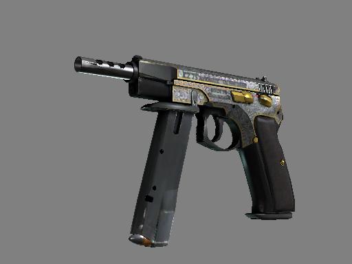 csgo 饰品交易-CZ75 自动手枪   维多利亚 (略有磨损)