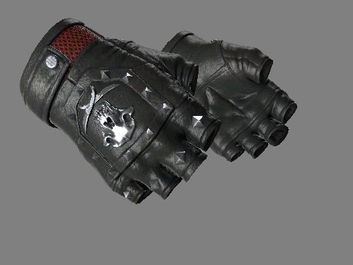 csgo 饰品交易-血猎手套(★) | 焦炭 (略有磨损)