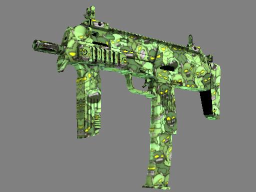 csgo 饰品交易-MP7(StatTrak™) | 帝国 (略有磨损)