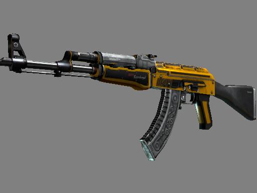 csgo 饰品交易-AK-47(StatTrak™) | 燃料喷射器 (战痕累累)