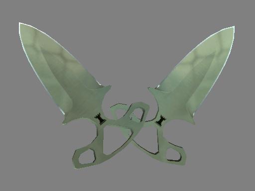 csgo 饰品交易-暗影双匕(★) | 狩猎网格 (略有磨损)