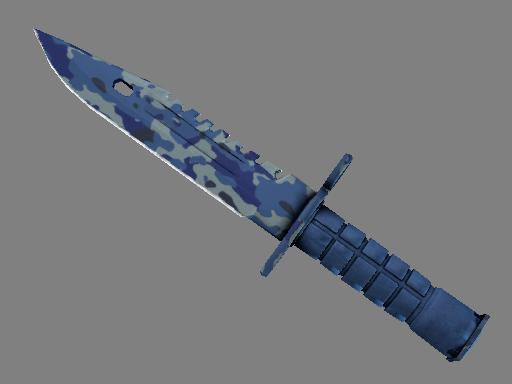 csgo 饰品交易-M9 刺刀(★ StatTrak™) | 澄澈之水 (崭新出厂)