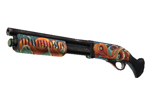 csgo 饰品交易-截短霰弹枪(StatTrak™) | 北海巨妖 (久经沙场)