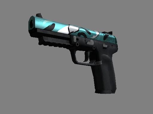 csgo 饰品交易-FN57(StatTrak™) | 狩猎利器 (崭新出厂)