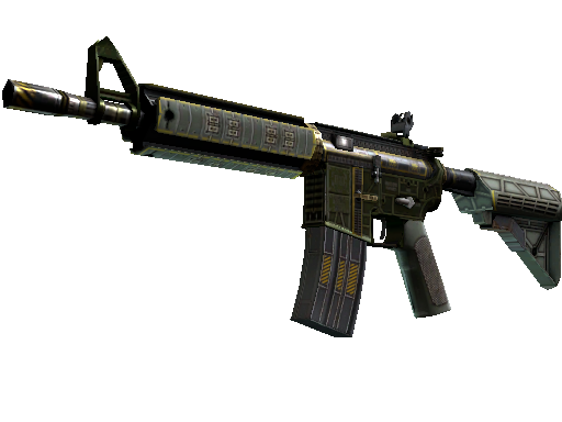 csgo 饰品交易-M4A4(StatTrak™) | 战场之星 (略有磨损)