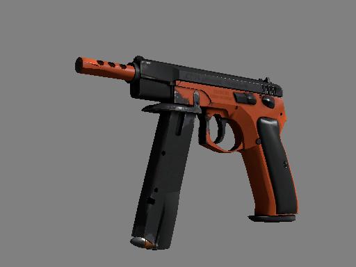 csgo 饰品交易-CZ75 自动手枪(纪念品)   氮化处理 (久经沙场)