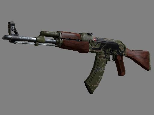 csgo 饰品交易-AK-47(StatTrak™) | 美洲猛虎 (略有磨损)