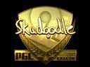 csgo 饰品交易-印花 | Skadoodle(金色)| 2017年克拉科夫锦标赛