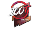 csgo 饰品交易-印花 | 100 Thieves(全息)| 2018年波士顿锦标赛