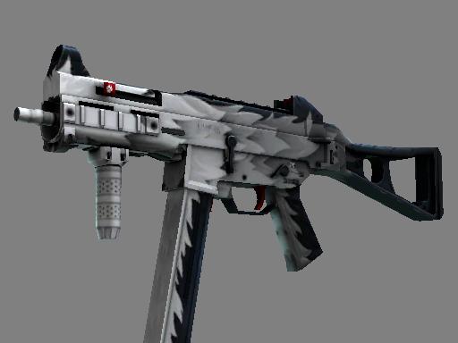 csgo 饰品交易-UMP-45(StatTrak™) | 白狼 (久经沙场)