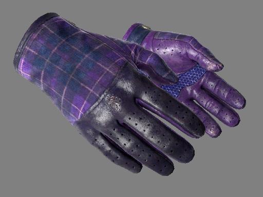 csgo 饰品交易-驾驶手套(★) | 蓝紫格子 (久经沙场)
