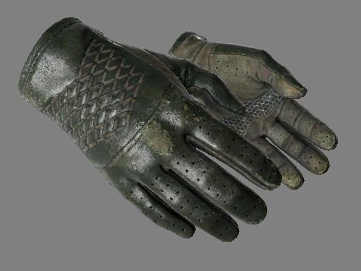 csgo 饰品交易-驾驶手套(★) | 墨绿色调 (久经沙场)