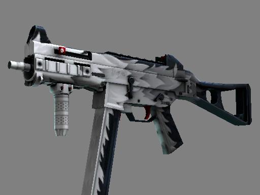CS:GO 饰品交易-UMP-45(StatTrak™)   白狼 (略有磨损)